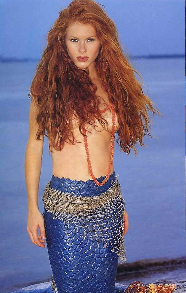 Real Mermaid Photographed With Her Consent